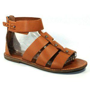 Madewell Womens Rowan Brown Sandals Size 9.5